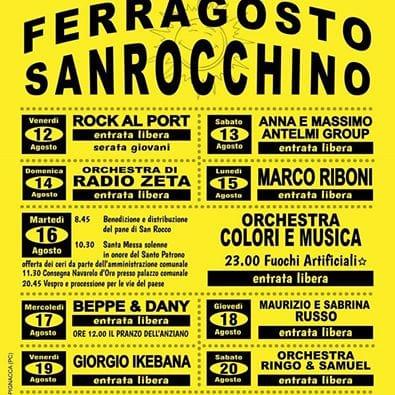 Orchestra Radio Zeta Calendario.San Rocco Al Porto Ferragosto Sanrocchino