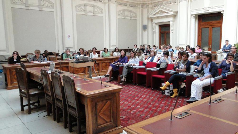 Il pubblico intervenuto al seminario in provincia-2