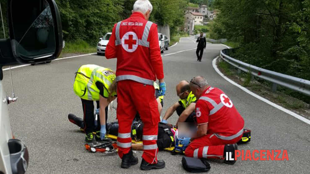 incidente ottone motociclista 04-2-2