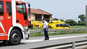 incidente auto ribaltata monticelli 01-2