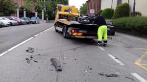 incidente motociclista pontenure 04-2
