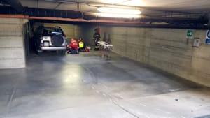 uomo investito garage via manfredi 03-3