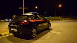 Carabinieri, Radiomobile, controlli, posto di controllo, Fiorenzuola, notte, estate 2019-2