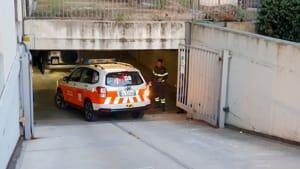 uomo investito garage via manfredi 01-2-2