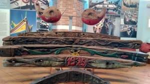 addobbi in legno per imbarcazioni del museo marinaro di Cesenatico-2