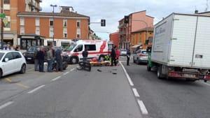 incidente motociclista pontenure 03-2