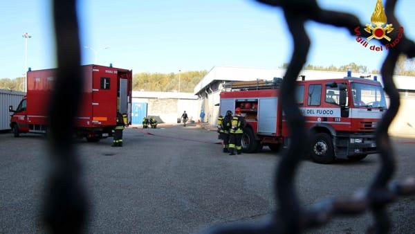 Esercitazione vigili del fuoco e protezione civile centrale nucleare caorso-4