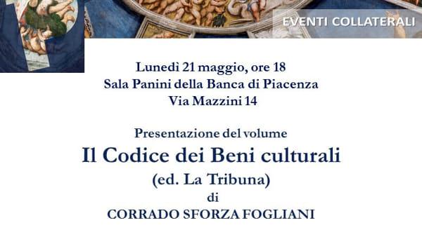 """Banca di Piacenza, presentazione de """"Il Codice dei Beni Culturali"""""""
