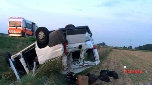 Incidente A21 Castelvetro 20 08 2018-2