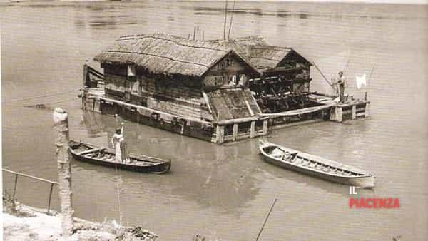 Uno degli ultimi mulini sul Po (primi XIX secolo)-2