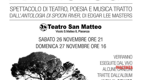 "Teatro San Matteo, ""Spoon River Anthology"""