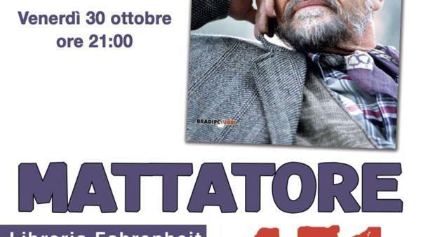 """Libreria Fahrenheit 451, """"Mattatore. Vita e parole di Vittorio Gassman"""""""