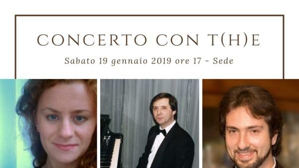 """Amici della Lirica, """"Concerto con t(h)e"""""""
