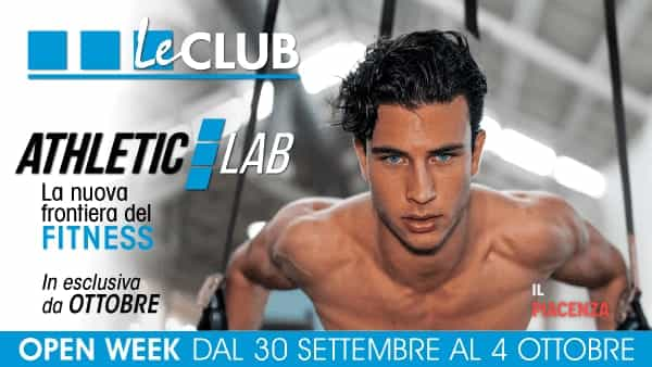 L'open week di Le Club dal 30 settembre al 4 ottobre