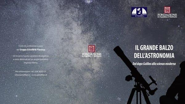 """Auditorium della Fondazione, """"Il grande balzo dell'Astronomia"""""""