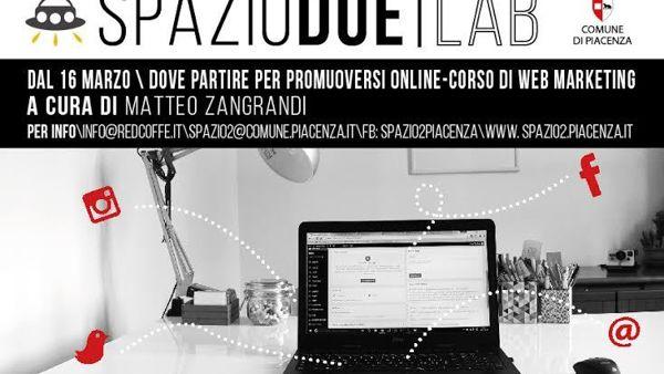 Spazio 2, corso di Web Marketing