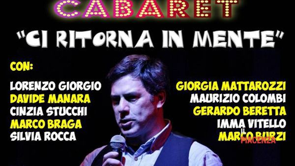 Vicobarone, cabaret con il Comic Club