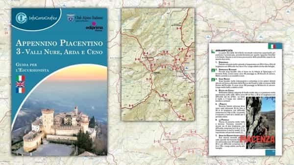 CAI Piacenza, presentazione della carta escursionistica zona val Nure, val d'Arda e val Ceno