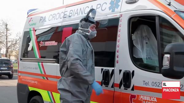 «Da Modena e dalla Romagna rinforzi Anpas per le ambulanze di Piacenza»