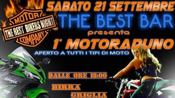 Caorso, 1° Motoraduno @ The Best Bar