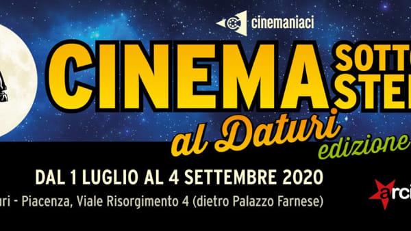 """Arena Daturi, """"Cinema sotto le stelle"""" 2020"""