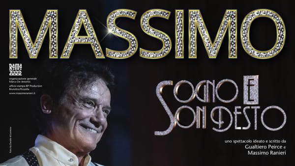 """Massimo Ranieri in """"Sogno e son desto"""" al Politeama"""