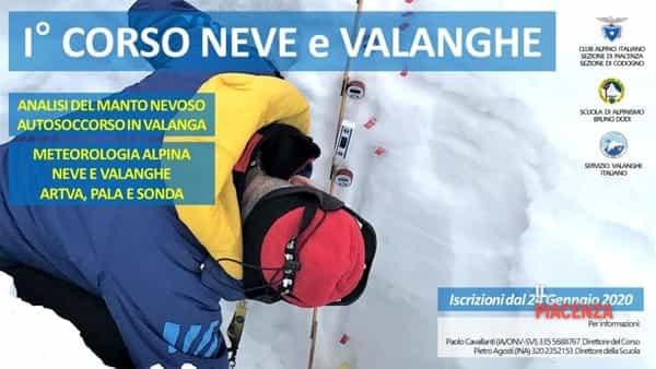 CAI Piacenza, 1° Corso Neve e Valanghe - apertura iscrizioni