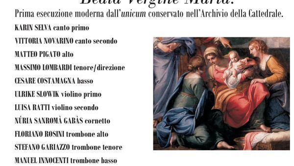 Cattedrale, Vespro per la Natività della Beata Vergine