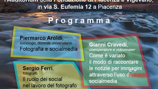 """Auditorium della Fondazione, """"Evoluzione ed involuzione della fotografia ai tempi dei social"""""""