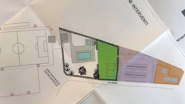 Progetto lavori centro sportivo Lugagnano-2