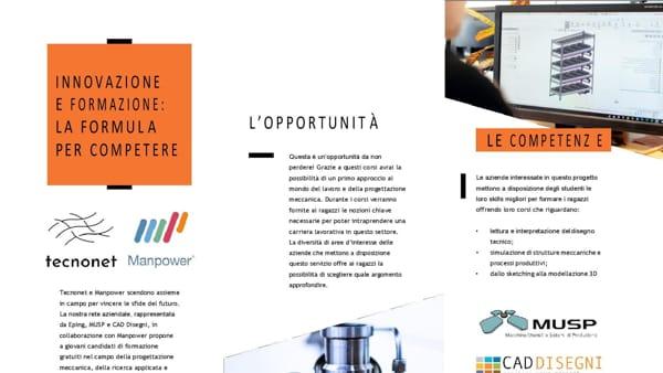 On line corso di progettazione meccanica, ricerca applicata e design