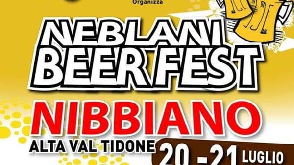 Nibbiano, Neblani Beer Fest