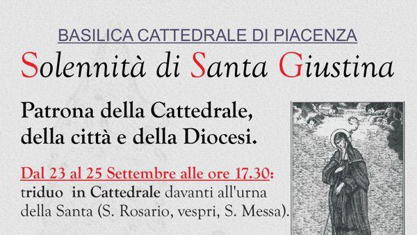 Cattedrale di Piacenza, Solennità di Santa Giustina