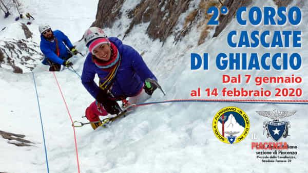 CAI Piacenza, 2° corso Cascate di Ghiaccio - apertura iscrizioni