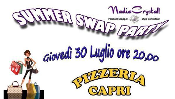 Pontenure, Summer Swap Party e pizzata