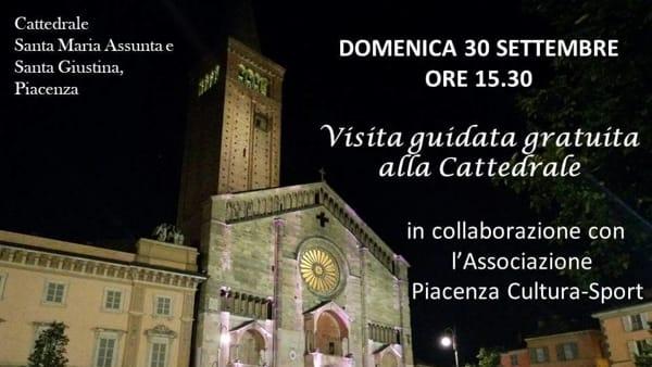 Piacenza, visita guidata gratuita alla Cattedrale
