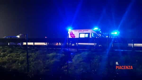 Incidente autostrada notte-3