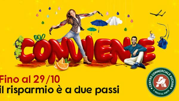 Il risparmio è a due passi al Centro Commerciale Auchan S.Rocco al Porto 980078b7f0af