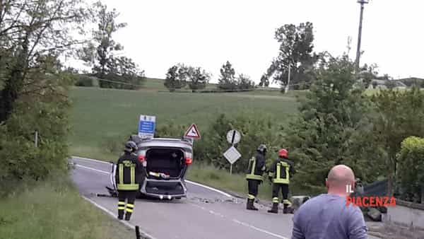 La scena dell'incidente