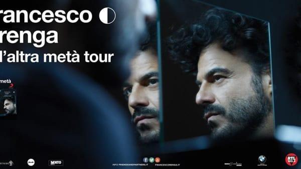 """Teatro Politeama, Francesco Renga con """"L'altra metà Tour"""""""