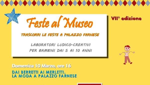 Palazzo Farnese, Feste al Museo