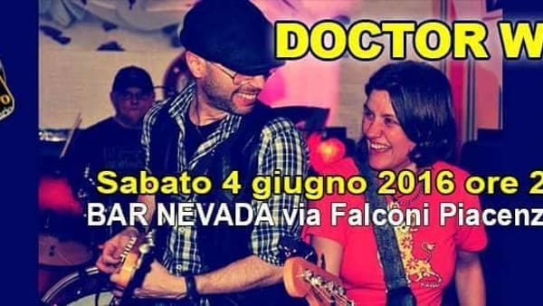 Americana Evening, Doctor Wood live al Nevada Club