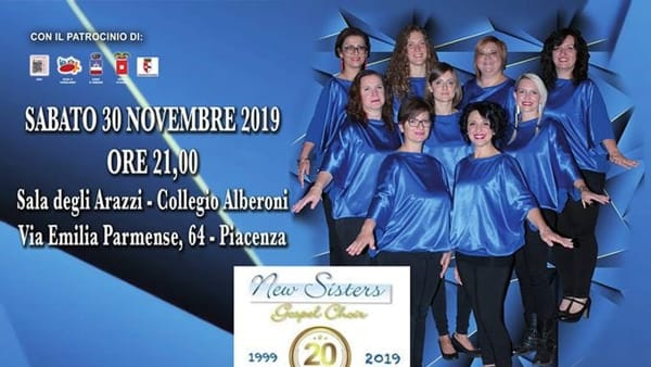 """Galleria Alberoni, concerto del """"New Sisters Gospel Choir"""""""