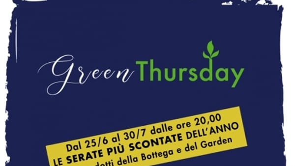 Il Germoglio, prosegue il Green Thursday!