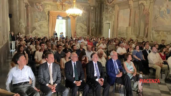 La platea intervenuta all'incontro