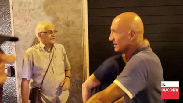 Militanti di Forza Nuova nel Quartiere Roma: la contestazione