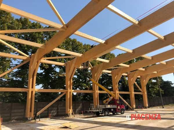 la struttura in legno-2