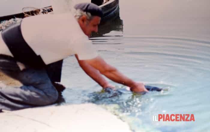 Enrico, pescatore (e ristoratore) da trent'anni sul Po - Trespidi/ilPiacenza