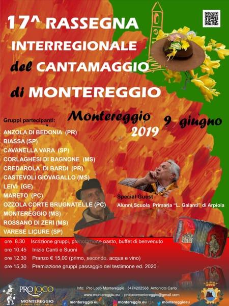 Locandina 17 Rassegna Canto del Maggio di Montereggio-2