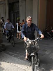 Giorgio Cisini in bicicletta-2
